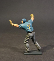 Plane Handler Pushing, Aircraft Carrier Flight Deck Crew, USS Bunker Hill, WWII, Single Figure