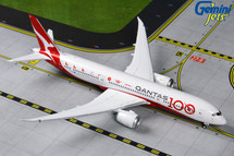 Qantas B787-9 VH-ZNJ Qantas 100 Livery Gemini Jets Diecast Display Model