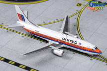 United B737-300 N327UA (Saul Bass livery) Gemini Jets Diecast Display Model