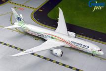 Aeromexico B787-9 XA-ADL Quetzalcoatl livery Gemini 200 Diecast Display Model