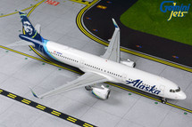Alaska A321neo N928VA Gemini 200 Diecast Display Model