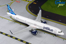 JetBlue A321neo N2002J (balloon design on tail) Gemini 200 Diecast Display Model