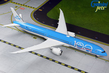 "KLM Royal Dutch Airlines 787-10 Dreamliner, PH-BKA, ""KLM 100"" Gemini 200 Diecast Display Model"