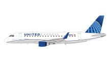 United Express E175 N605UX (New Livery) Gemini 200 Diecast Display Model
