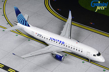 United Express E175 N605UX (New Livery) Gemini 200 Diecast Display Model