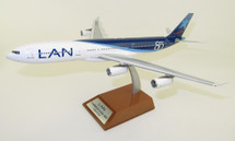 LAN Airlines Airbus A340-313 CC-CQG With Stand Limited 44pcs