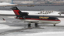Trump Boeing 727-100 VP-BDJ with Winglets and Stand