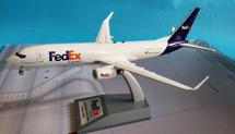 FedEx (West Atlantic) Boeing 737-83N(BCF) G-NPTD With Stand