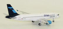 Oneworld Mexicana Airbus A320-214 XA-MXK With Stand, 90 MODELS MADE