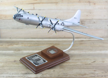 "B-29 Superfortress ""Doc"" 1/72 Scale Model with Real Plane Relic"