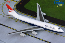 British Airways B747-400 G-CIVB (Negus livery) Gemini 200 Diecast Display Model