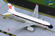 British Airways A319 G-EUPJ (BEA livery) Gemini 200 Diecast Display Model