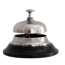 Sailor's Inn Desk Bell Silver Authentic Models