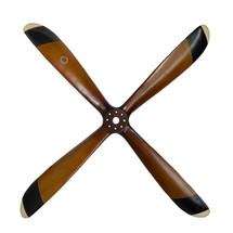 Four Blade Wooden Propeller Authentic Models