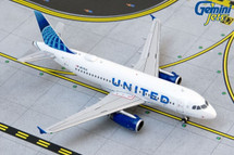 United A319 N876UA (new livery) Gemini Jets Display Model
