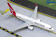 Qantas Boeing 737-800, VH-VZI, new livery Gemini 200 Diecast Display Model