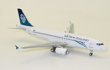 Air New Zealand Airbus A320-232 ZK-OJD With Stand