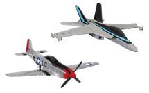 Maverick`s F/A-18 Hornet and P-51D Mustang (Top Gun Maverick, 2020) Corgi Showcase