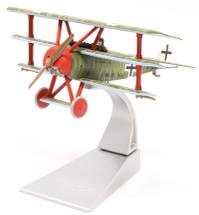 Fokker DR.1 Triplane, Wolfram Freiherr von Richthofen, 21st April 1918, Death of the Red Baron