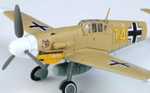 Bf 109G-2 (Trop) Yellow 14, Hans Joachim Marseille, 3./JG27, Quotaifiya, Egypt, 30th September 1942