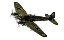 He 111 H-2 1H+JA, Stab./KG26, 28th October 1939, The Humbie Heinkel