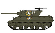 M10 Tank Destroyer 601st Tank Destroyer Bttn., Volturno River, 1943