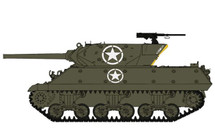 M10 Wolverine US Army 601st Tank Destroyer Btn, Italy