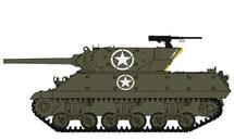 M10 Wolverine US Army 601st Tank Destroyer Btn, Italy