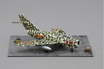Mig-17 Vietnamese Air force flown by Colonel Nguyen Toon Mahogany Display Model