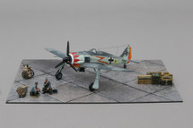 Fw 190 Flown By Hermann Graff, WWII Mahogany Display Model