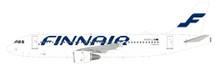 Finnair Airbus A320-214 OH-LXM With Stand