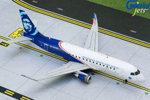 Alaska/Horizon Air E175 N651QX Gemini 200 Diecast Display Model