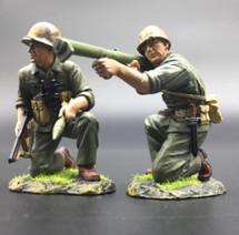USMC Bazzooka Team (Pte Douglas Jacobson) WWII Set by Thomas Gunn
