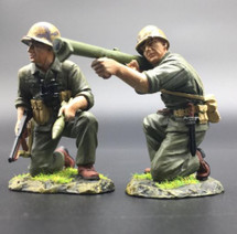 USMC Bazzooka Team (Pte Douglas Jacobson) WWII Set by Thomas Gunn