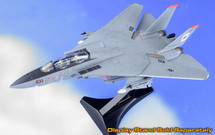 F-14A Tomcat USN VF-41 Black Aces, AJ100 Anna, USS Enterprise, Last F-14 Cruise 2001, (Clean Version No Ink on Panel Lines)