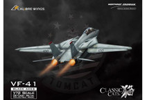 F-14A Tomcat USN VF-41 Black Aces, AJ100 Anna, USS Enterprise, Last F-14 Cruise 2001, (Weathered Version Ink on Panel Lines)