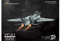 F-14A Tomcat USN VF-41 Black Aces, AJ100 Anna, USS Enterprise, Last F-14 Cruise 2001, (Weathered Version Ink on Panel Lines)