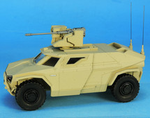 Arquus Scarabee Light Armored 4x4 Sand Tone, 2019 Prototype