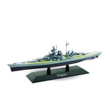 German Kriegsmarine battleship Tirpitz, 1939, DeAgostini Diecast Warships