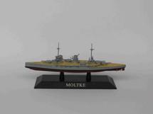 German Kaiserliche Marine battlecruiser SMS Moltke 1911, DeAgostini Diecast Warships