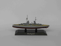 German Kaiserliche Marine battleship SMS Markgraf 1914, DeAgostini Diecast Warships
