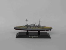 German Kaiserliche Marine battleship SMS Helgoland 1911, DeAgostini Diecast Warships