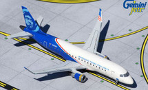 Alaska / Horizon Air E175 N651QX Honoring Those Who Serve Gemini Jets Diecast Display Model