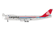 Cargolux B747-8F LX-VCA Interactive Series Gemini Jets Diecast Display Model