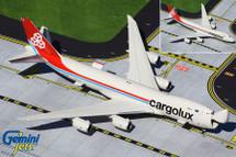 Cargolux B747-8F LX-VCA Interactive Series Gemini Jets Diecast Display Model