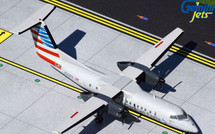 American Eagle/Piedmont Dash 8 Q300 N329EN Gemini 200 Diecast Display Model