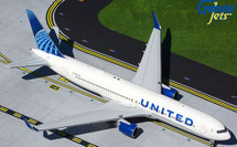 United B767-300ER N676UA New Livery Gemini 200 Diecast Display Model
