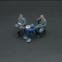 Stuka Bomber Pilot Hans Ulrich Rudel & Doctor Gadermann, WWII Thomas Gunn Special Edition Set