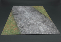 Cobblestone Road and Grass Terrain Mat from Thomas Gunn