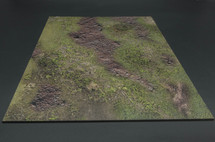 Muddy Grassy Field Terrain Mat from Thomas Gunn